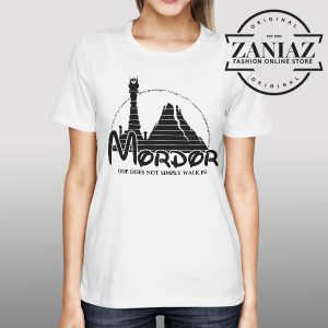 Buy Tshirt Mordor University Lord of the Rings Womens