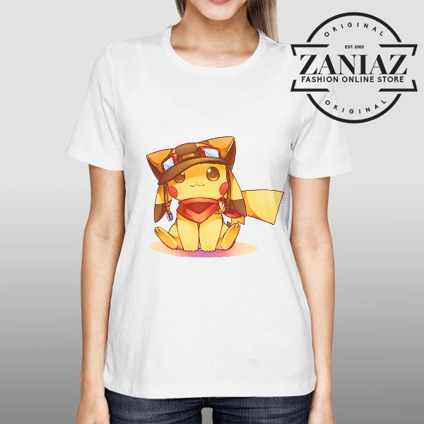 Pikachu Fashion Style Womens Tshirt