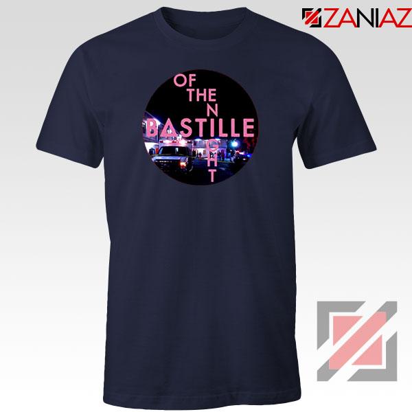 Single Of The Night Navy Blue Tshirt
