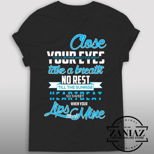 Tshirt 5Sos lyrics Quotes Sweet