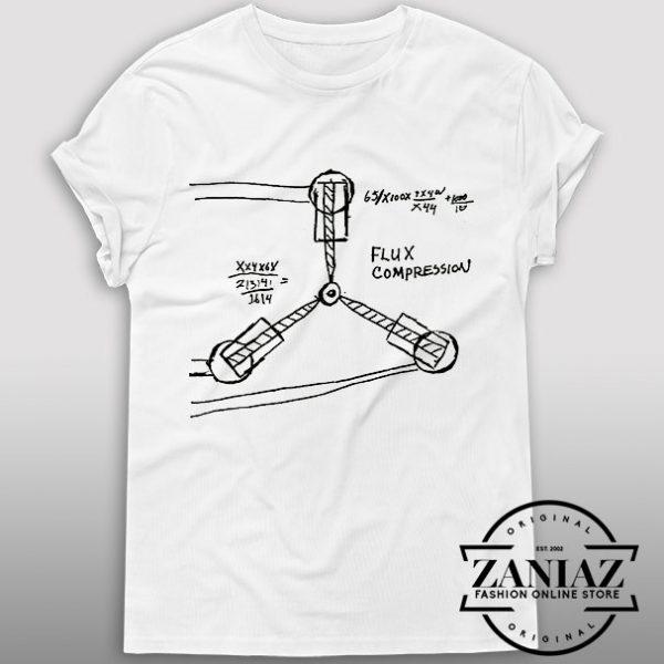 Tshirt Flux Capacitor Back to the future Custom Tshirt Womens Tshirt Mens