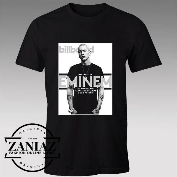Tshirt Eminem Billboard Cover Custom Tshirt Womens Mens