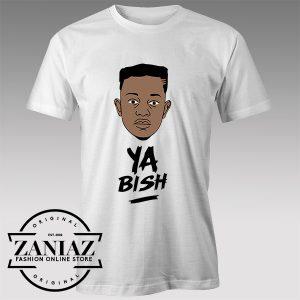 Tshirt Kendrick Lamar Ya bish Song Custom Tshirt Womens Tshirt Mens