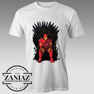 Thrones Iron Man Custom Tshirt