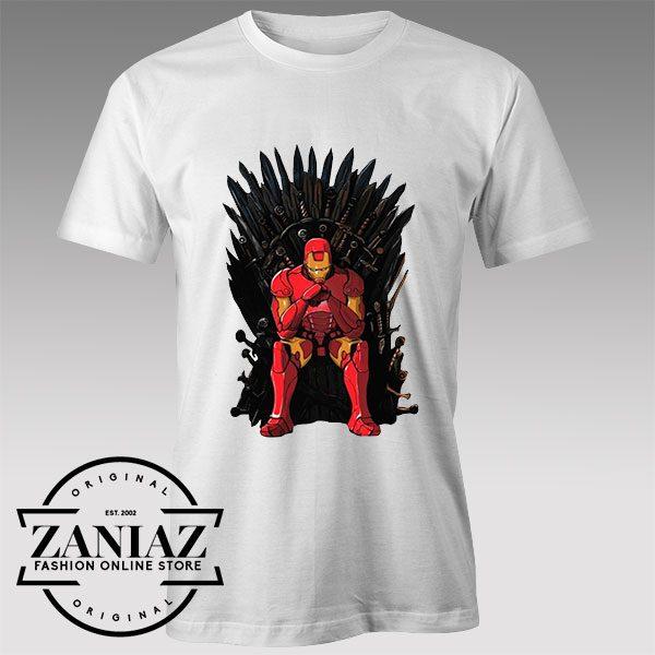 Thrones Iron Man Custom Tshirt