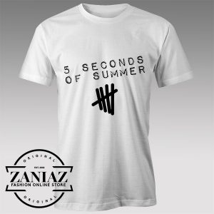 Tshirt 5 Second of Summer Best Songs