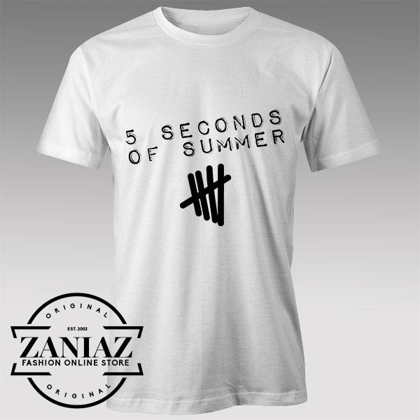 Tshirt 5 Second of Summer Best Songs