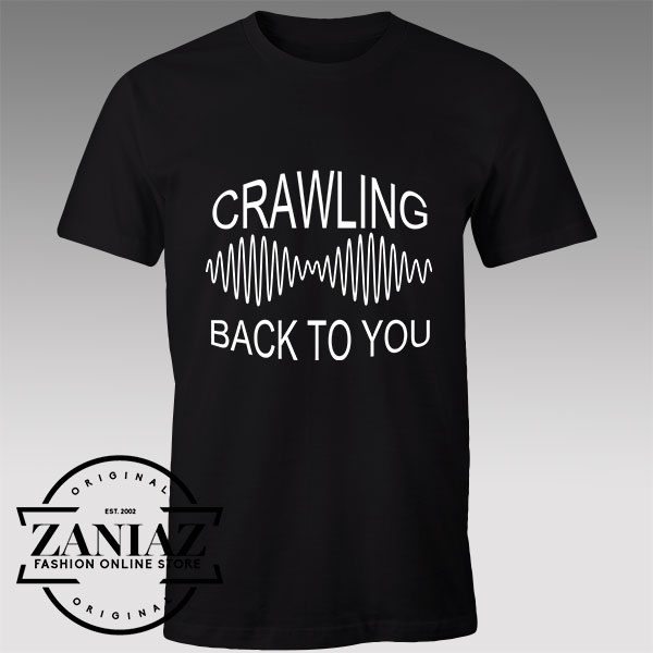 Tshirt Arctic Monkeys Crawling Back to you