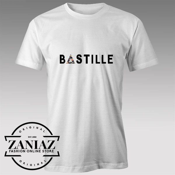 Tshirt Bastille Band Nebula Art