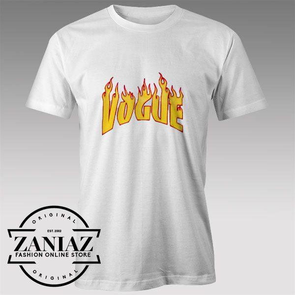 Tshirt Flaming Vogue