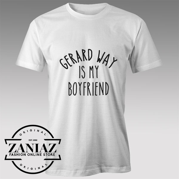 Tshirt Gerard Way My Boyfriend