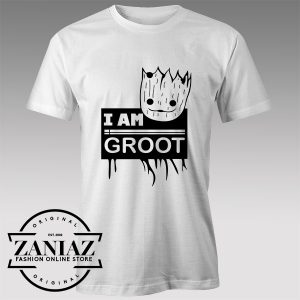 Tshirt Groot Guardians Galaxy Name