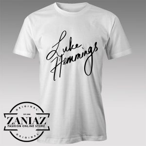 Tshirt Luke Hemmings Signature