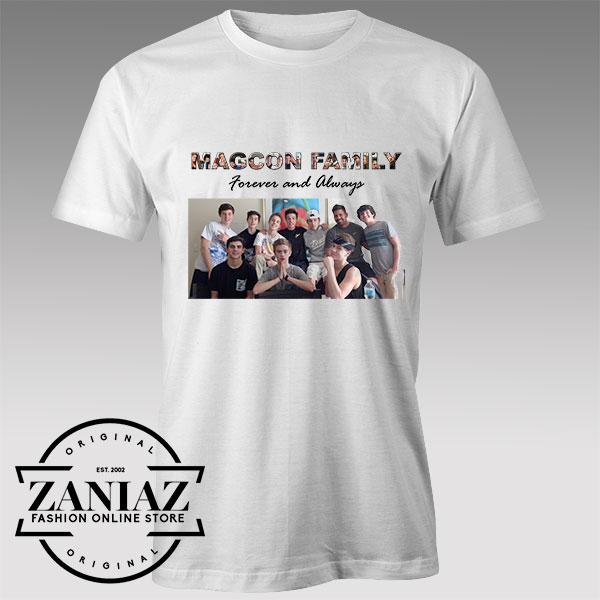 Tshirt Magcon Family Tour Merch