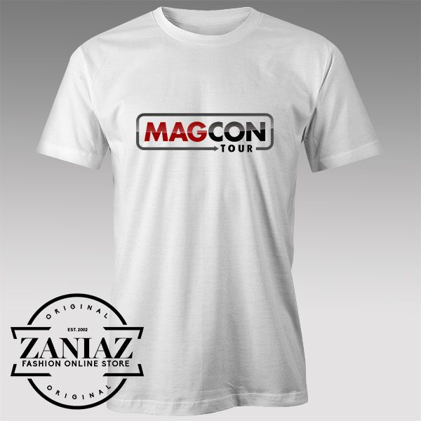 Tshirt Magcon Tour New