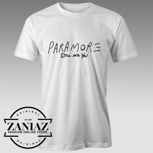 Tshirt Paramore Still in to you