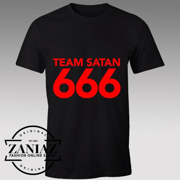 Tshirt Team Satan Triple Six