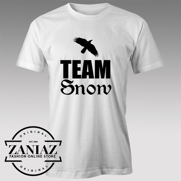 Tshirt Team Snow Game of Thrones