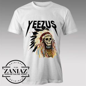 Tshirt Yeezus Skull Tour