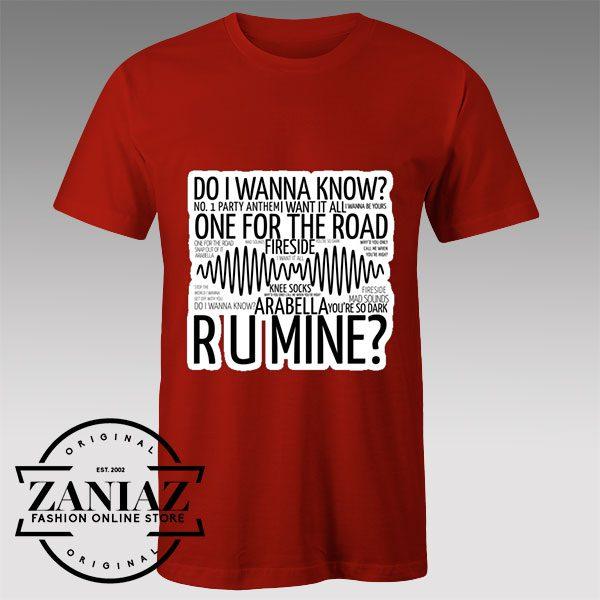 Buy Tshirt Arabella Arctic Monkeys Tshirts Womens Tshirts Mens
