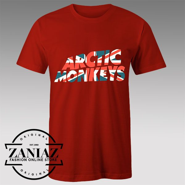 Buy Tshirt Arctic Monkeys UK Flag Tshirts Womens Tshirts Mens