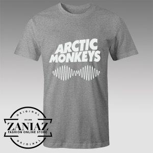 Buy Tshirt Arctic Monkeys Wave Logo Tshirts Womens Tshirts Mens