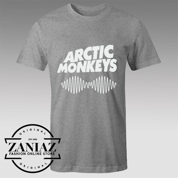 Buy Tshirt Arctic Monkeys Wave Logo Tshirts Womens Tshirts Mens