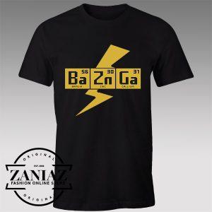 Buy Tshirt Big Bang Theory Sheldon Bazinga Tshirts Womens Tshirts Mens