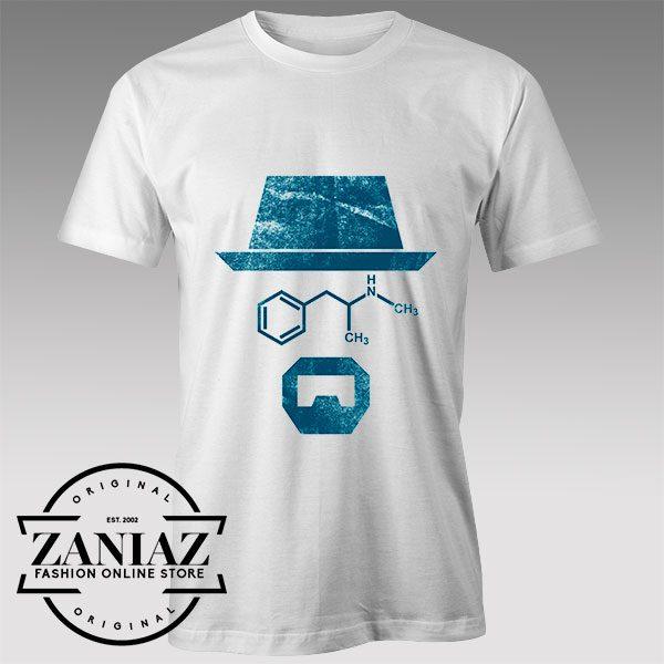 Buy Tshirt Chemistry of Breaking Bad Tshirts Womens Tshirts Mens