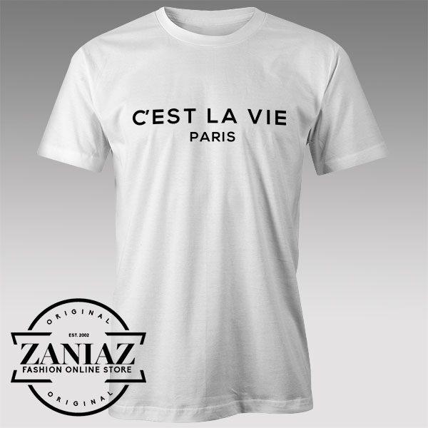 Buy Tshirt La Vie Paris Custom Tshirts Womens Tshirts Mens