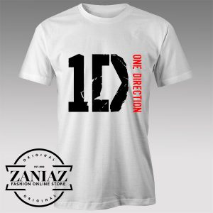Buy Tshirt One Direction The official logo Tshirts Womens Tshirts Mens