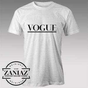 Buy Tshirt Vogue Magazine Logo Tshirts Womens Tshirts Mens