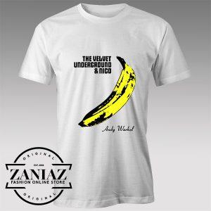 Tshirt Andy Warhol's Velvet Underground Tshirts Womens Tshirts Mens