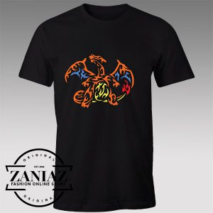 Tshirt Charizard Pokemon Dragon Tshirts Womens Tshirts Mens