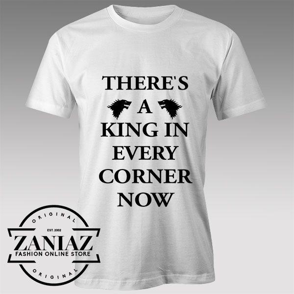 Tshirt Game of Thrones King in Every Corner Tshirts Womens Tshirts Mens