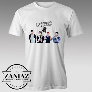 Tshirt LiveSOS 5 Seconds Of summer Tshirts Womens Tshirts Mens