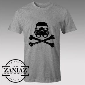 Tshirt Skull Wars Stormtrooper Tshirts Womens Tshirts Mens