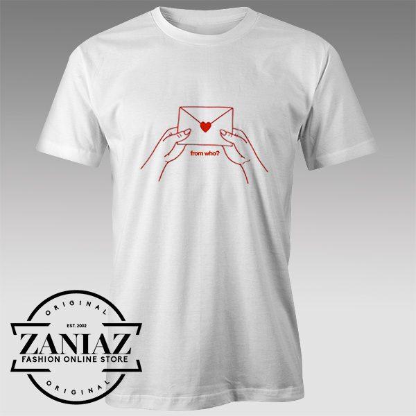 Buy Tshirt Love Letter From Who Custom Tshirts Womens Tshirts Mens