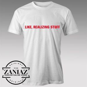 Tshirt Realizing Stuff Custom Tshirts Womens Tshirts Mens | ZANIAZ