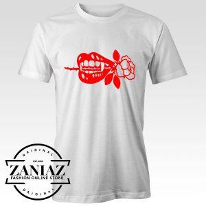 Tshirt Bloody Vampire Rose Custom Tees Womens and Mens Size S-3XL