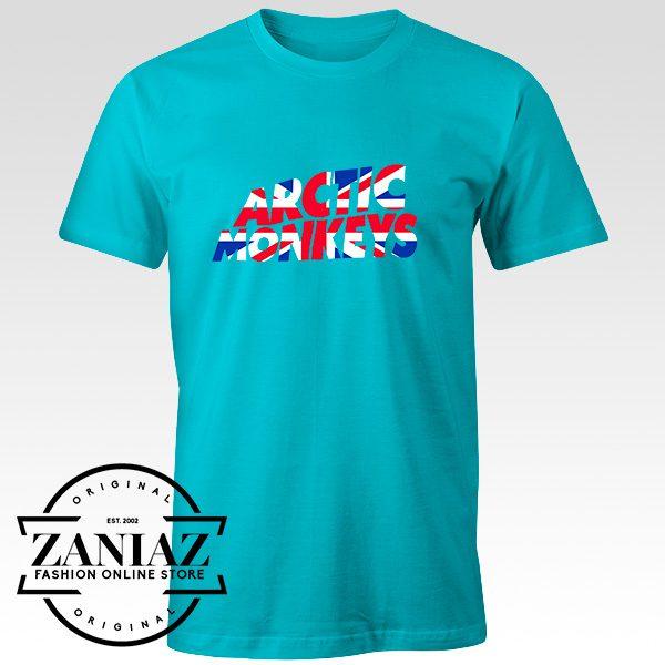 Buy Tshirt Arctic Monkeys UK Flag Size S-3XL