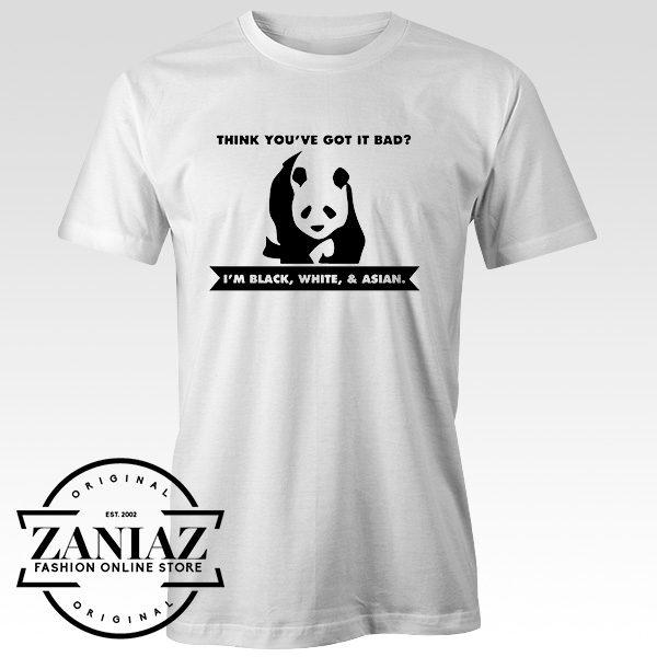 Buy Tshirt Cute Panda Tshirts Woman Tshirts Mens Size S-3XL