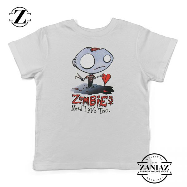 Buy Tshirt Kids Agorables Zombies Need Love