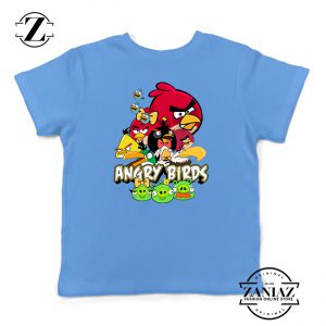 Buy Tshirt Kids Angry Birds Poster