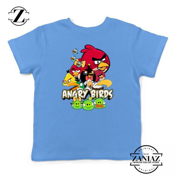 Buy Tshirt Kids Angry Birds Poster