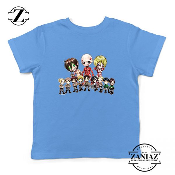 Buy Tshirt Kids Attack on titan manga