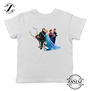 Buy Tshirt Kids Disney Frozen Friends