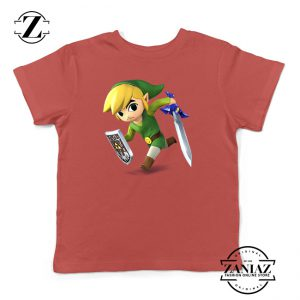 Buy Tshirt Kids Legend Of Zelda Link