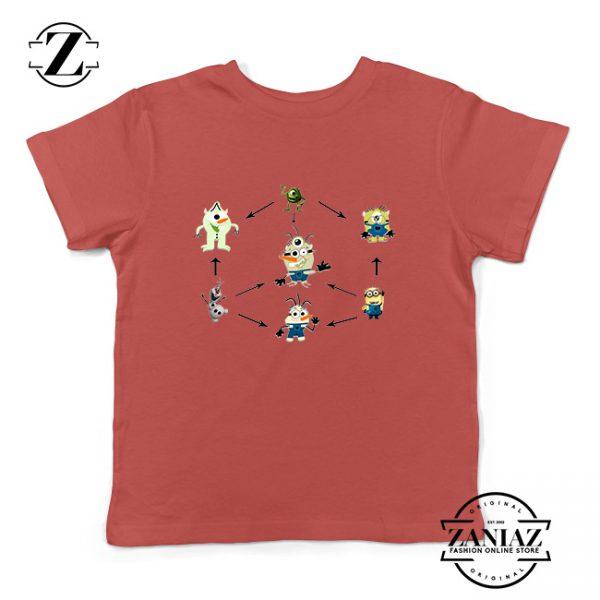 Buy Tshirt Kids Olaf and minion Fushion