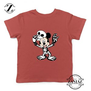 Buy Tshirt Mickey Mouse Halloween Skull